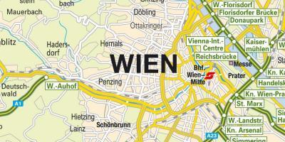 Viena Mapa Mapas De Viena Austria